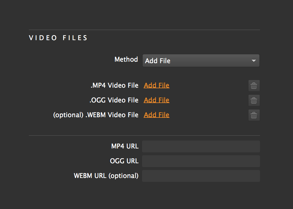 How can I add video files to my video widget? – Support
